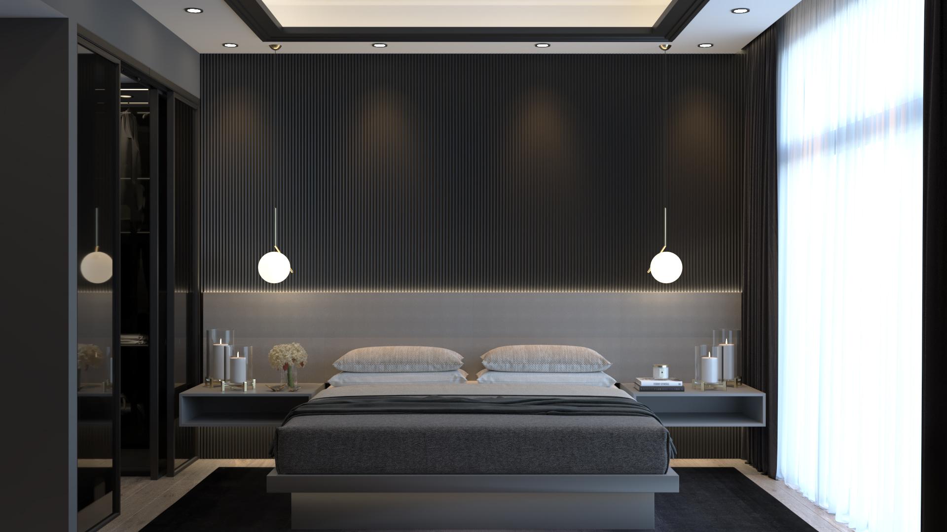 Luxury bedroom 01 total
