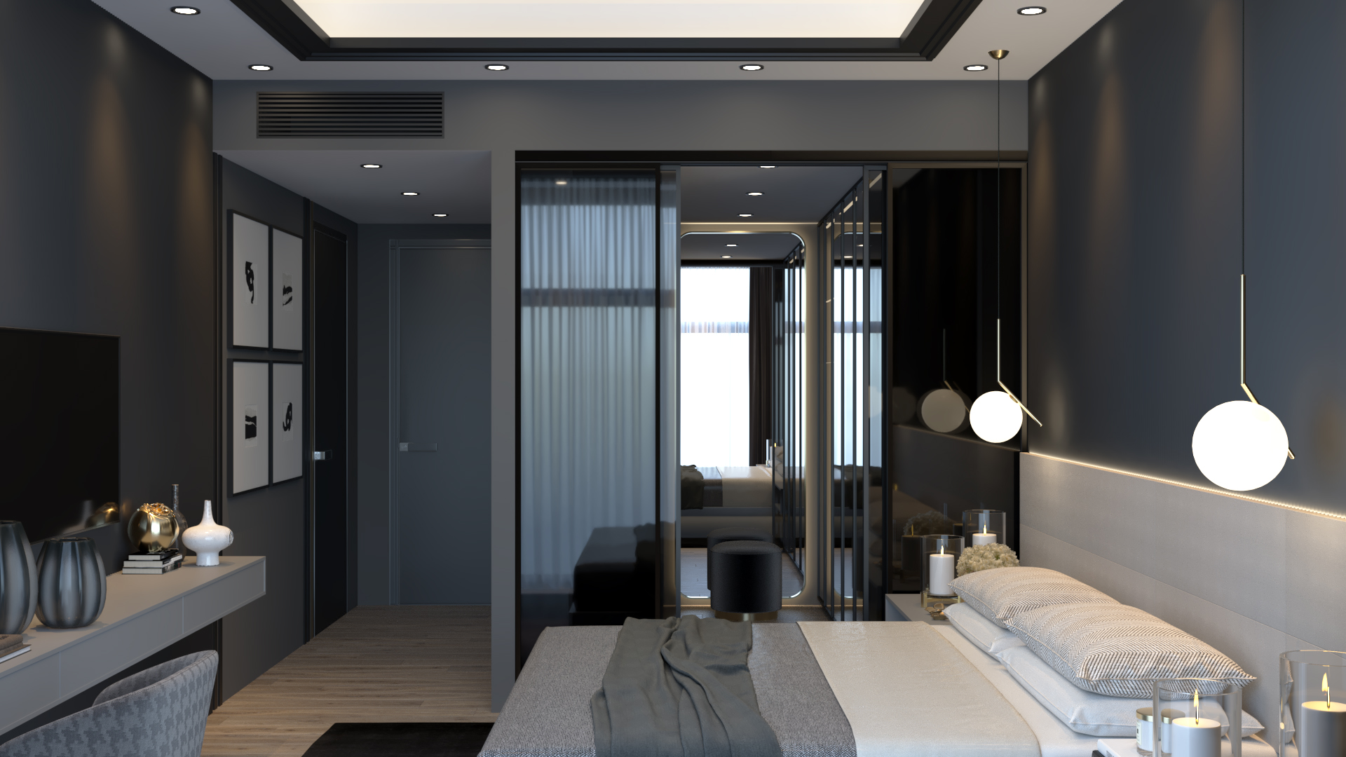 Luxury bedroom 03 total